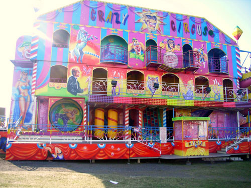 Crazy Circus Fun House